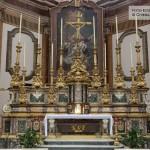Altare maggiore - Giacinto Diano, Deposizione