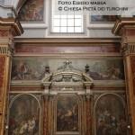 Cappellone del transetto sinistro - Giacinto Diano, Adorazione dei pastori, presentazione al tempio, Adorazione dei Magi, Strage degli innocenti