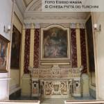 Cappella n. 10 - Giovan Battista Rossi, Vergine col Bambino tra i santi Gennaro e Antonio da Padova