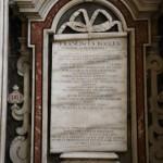 Cappellone del transetto destro - Monumento sepolcrale di Francesco Rocco