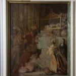 Cappella n. 4 - Agostino Beltrano, Contemplazione dell'urna con i resti di san Nicola