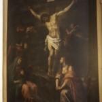 Cappella n. 1 - Domenico Fiasella, la Crocifissione