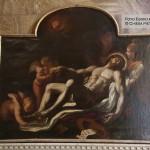 Cappella n. 6 - Crescenzo Gamba, Cristo morto sorretto dagli angeli