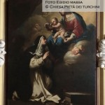 Cappella n. 9 - Luca Giordano, Visione della Madonna e Santa Rosa da Lima