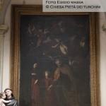 Cappella n. 8 - Giovan Battista Caracciolo detto Battistello, Sacra Famiglia con l'Eterno sorretto dagli angeli (Trinitas terrestris)