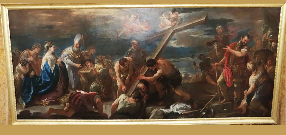 Luca Giordano - Invenzione della Croce